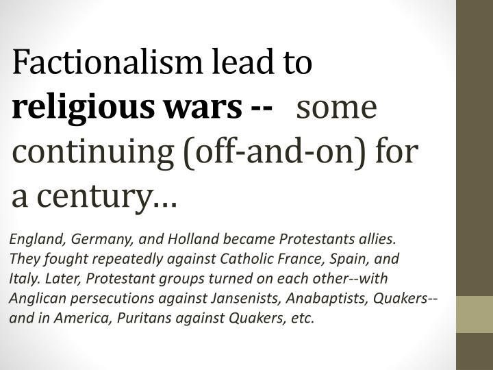 Factionalism