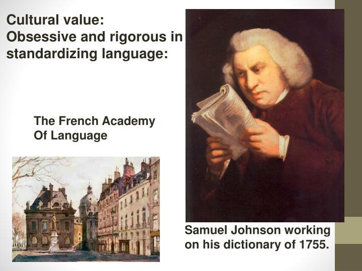 Cultural value: