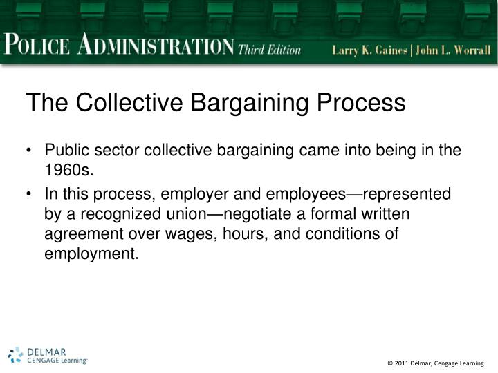 The Collective Bargaining Process