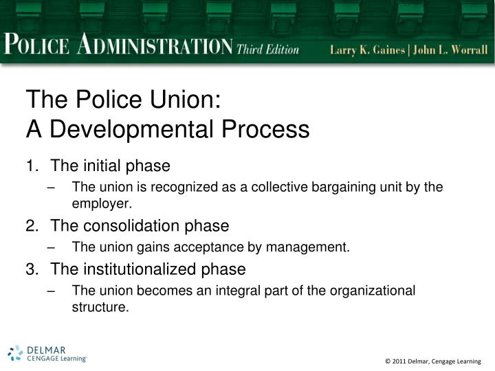 The Police Union: