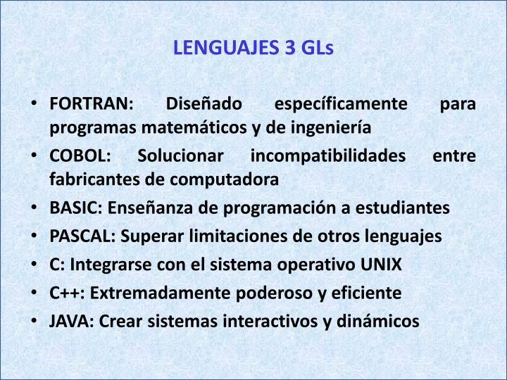 LENGUAJES 3