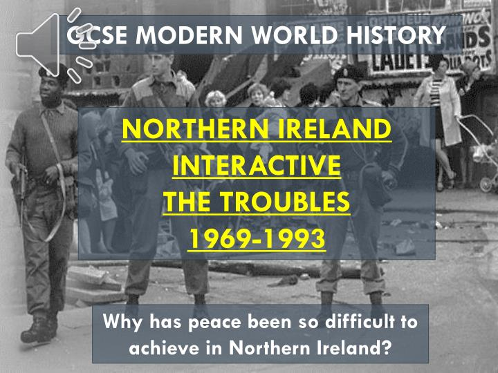 effects on conflict in northern ireland essay