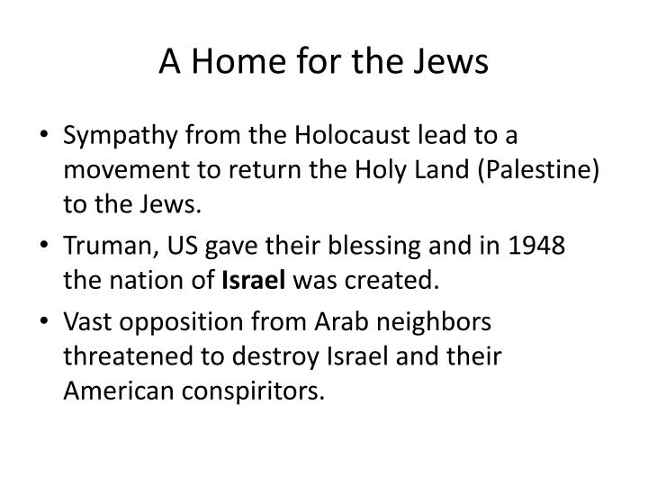 A Home for the Jews