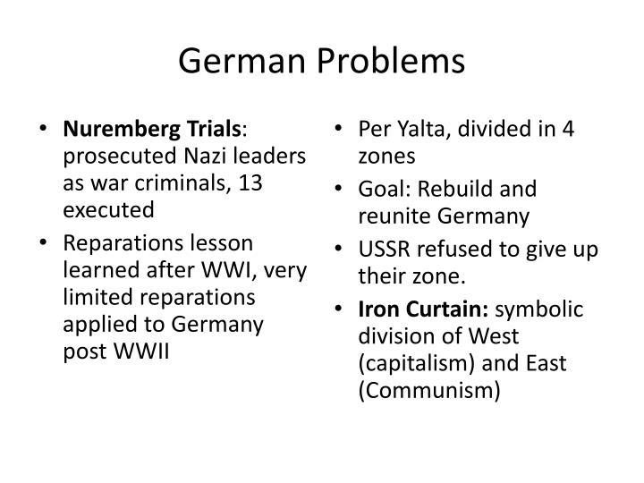 German Problems