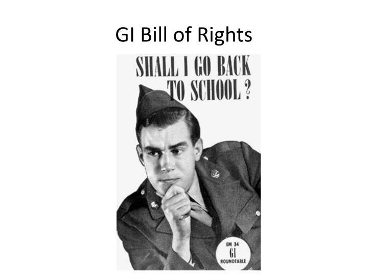 GI Bill of Rights