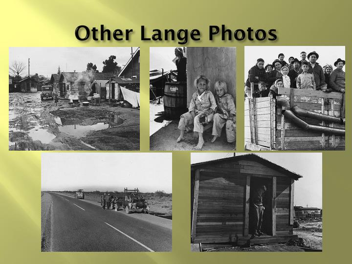 Other Lange Photos