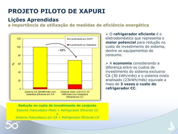 PROJETO PILOTO DE XAPURI