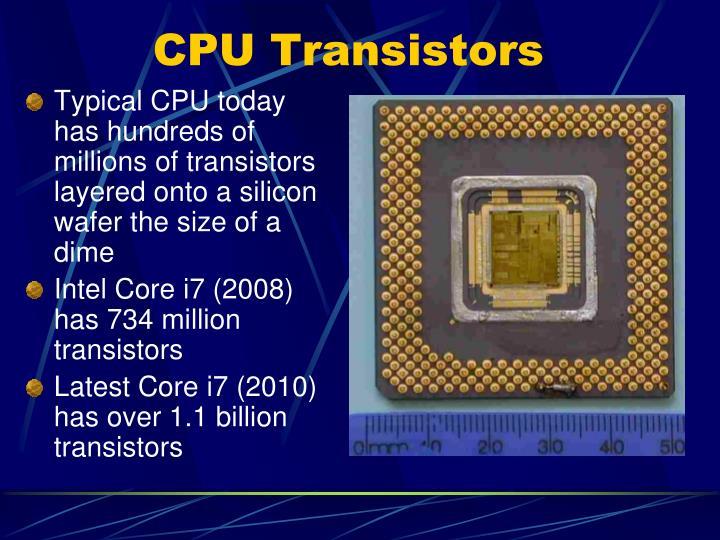 CPU Transistors