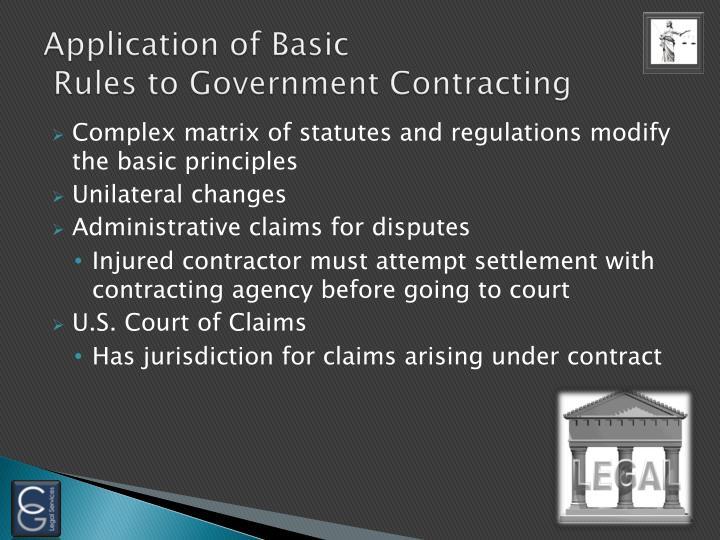 Application of Basic