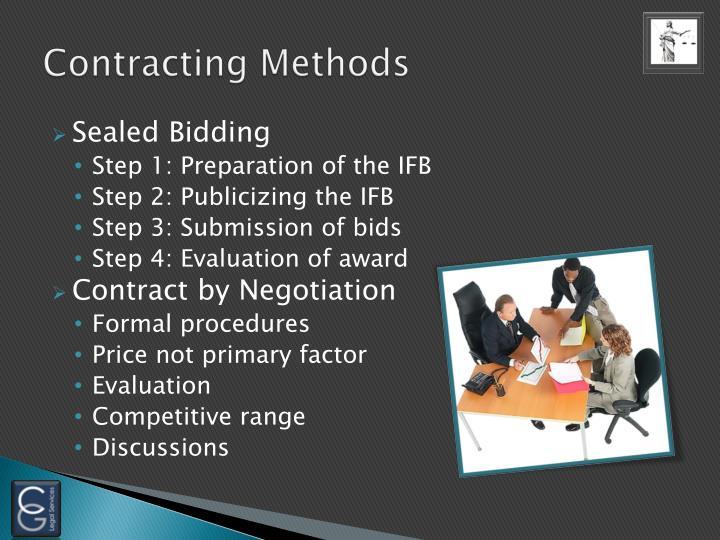 Contracting Methods