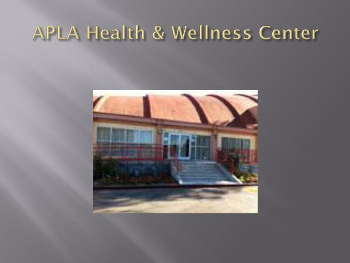 APLA Health & Wellness Center