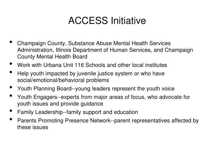 ACCESS Initiative