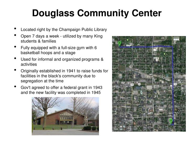 Douglass Community Center