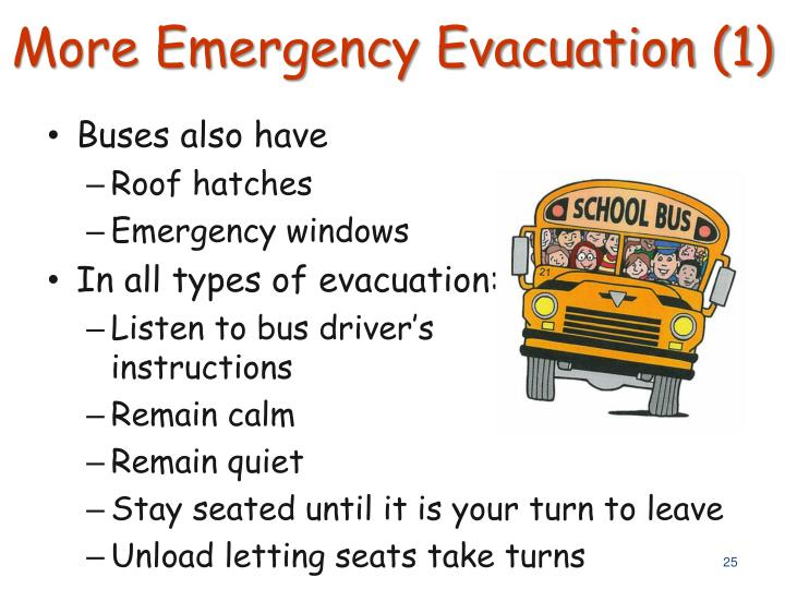 More Emergency Evacuation (1)