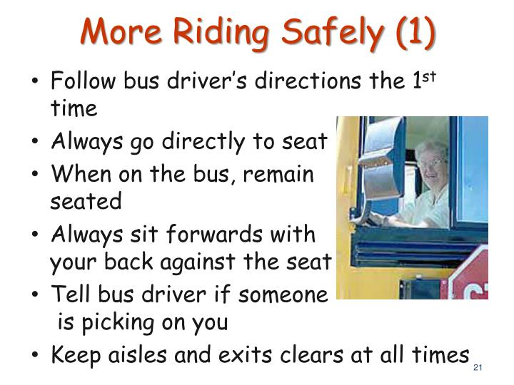More Riding Safely (1)