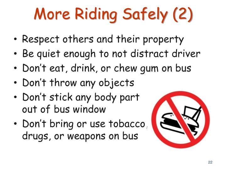 More Riding Safely (2)