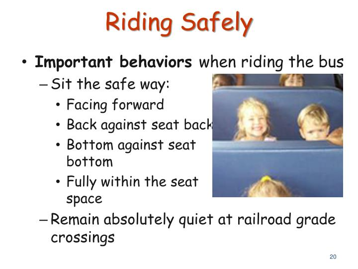 Riding Safely