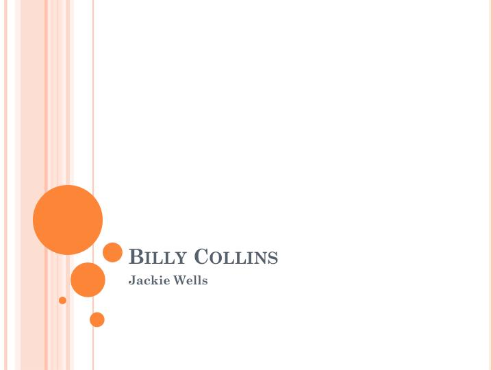 billy collins