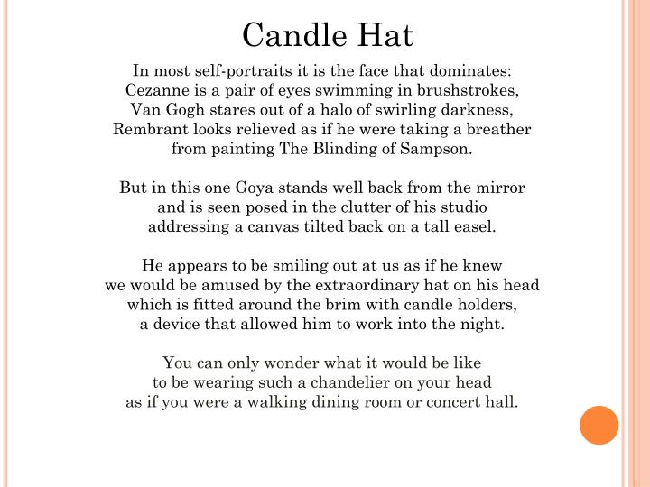Candle Hat