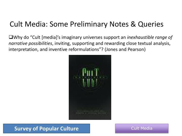 Cult Media: