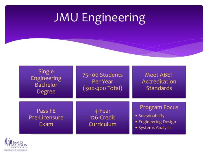 JMU Engineering