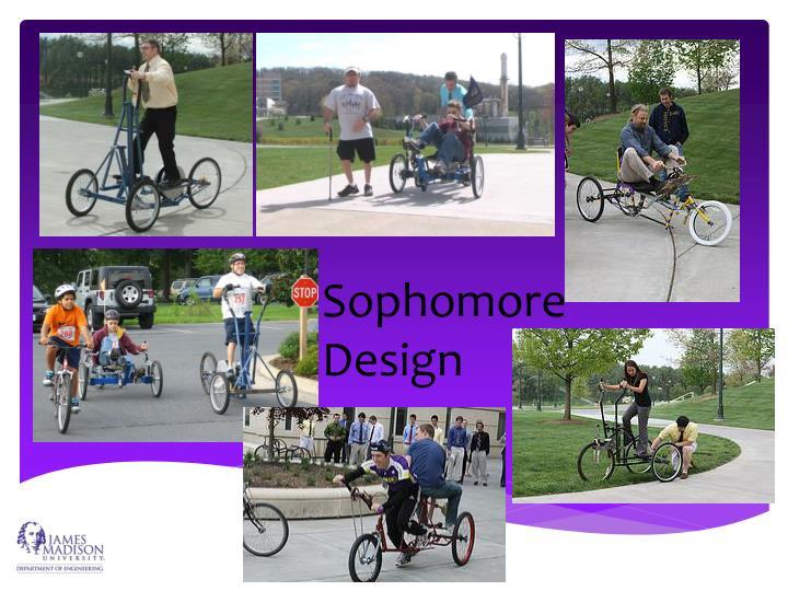 Sophomore Design