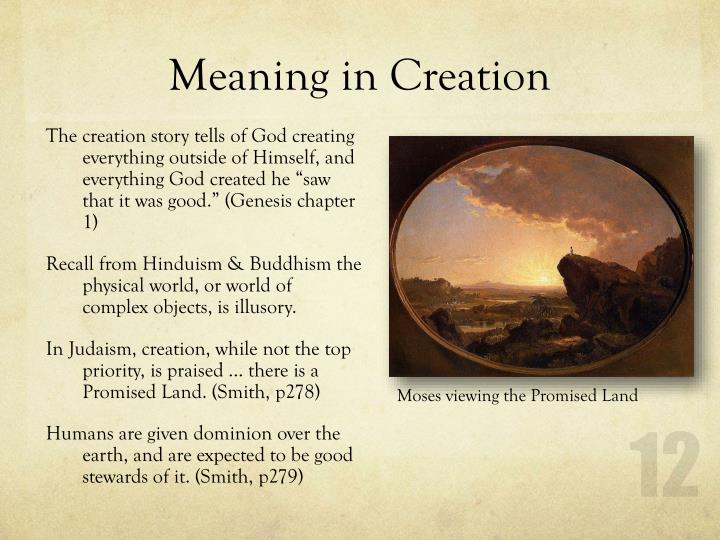 Meaning in Creation