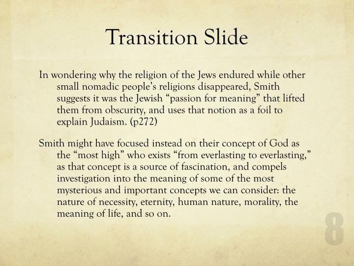 Transition Slide