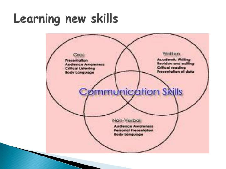Learning new skills