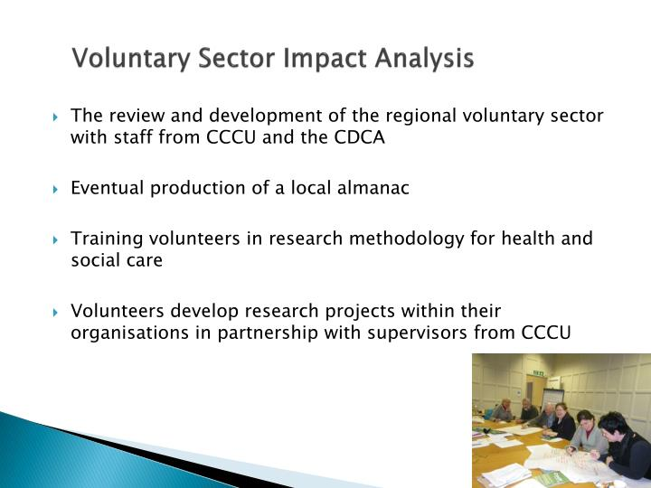 Voluntary Sector Impact Analysis