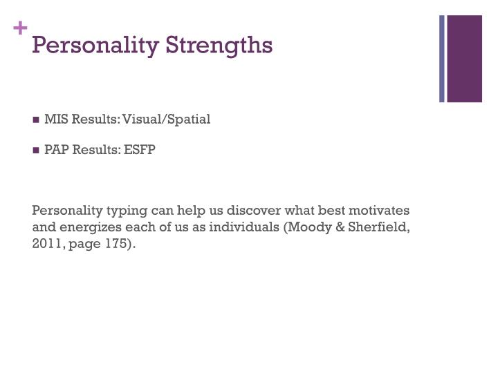 Personality Strengths