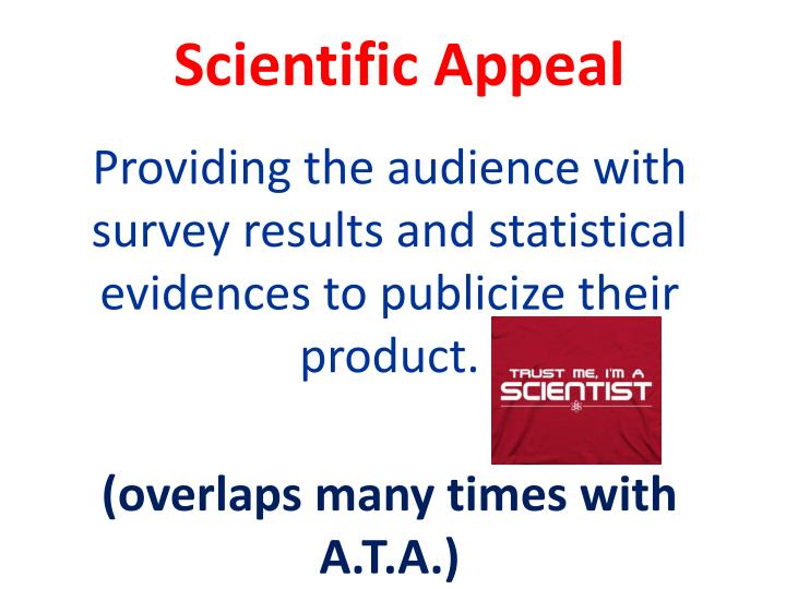 Scientific Appeal