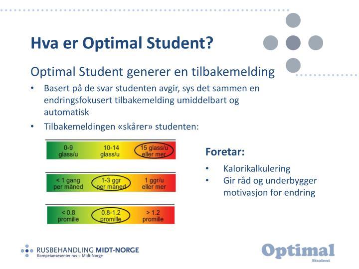 Hva er Optimal Student?
