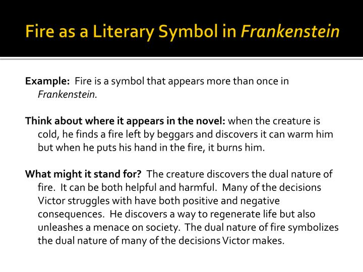 language and appearance in frankenstein essay