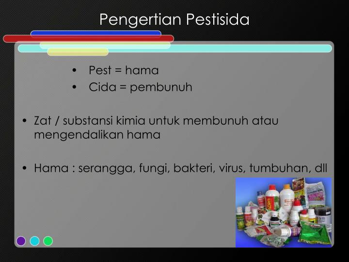 Pengertian pestisida