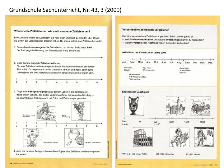Grundschule Sachunterricht, Nr. 43, 3 (2009)