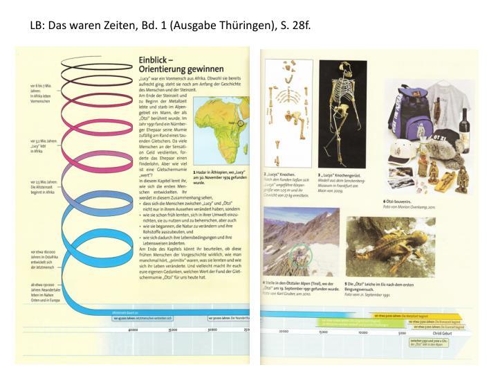LB: Das waren Zeiten, Bd. 1 (Ausgabe Thüringen), S. 28f.