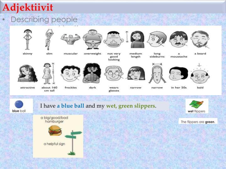 Adjektiivit