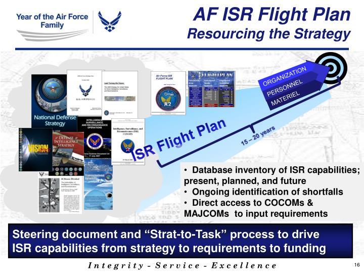AF ISR Flight Plan