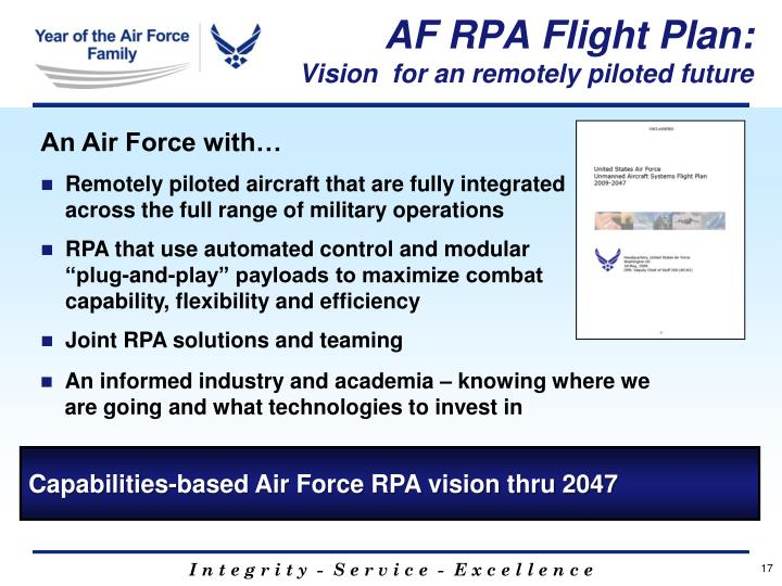 AF RPA Flight Plan: