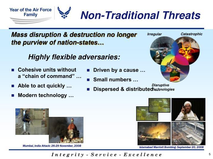 Non-Traditional Threats