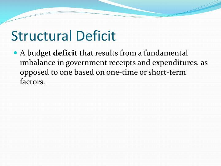 Structural Deficit