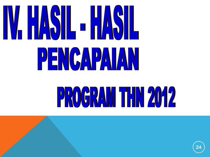 IV. HASIL - HASIL