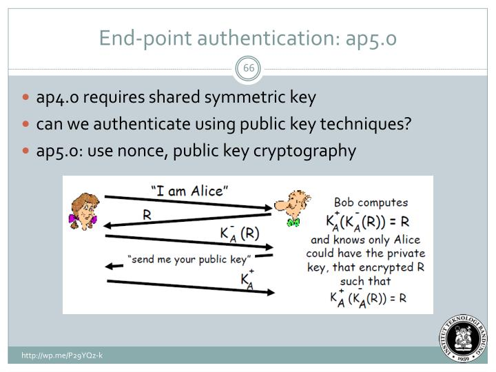 End-point authentication: ap5.0