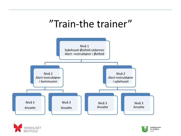 """""""Train-the trainer"""""""