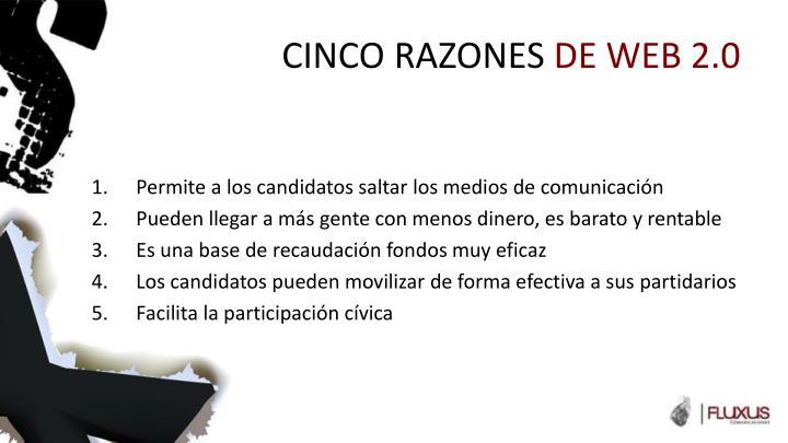 CINCO RAZONES