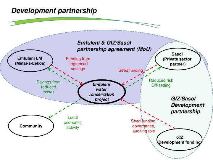 Development partnership