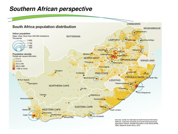 Southern African perspective