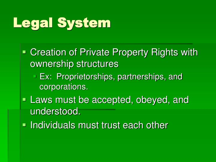 Legal System