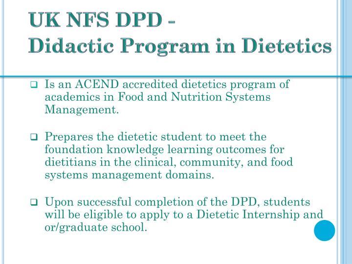 UK NFS DPD -